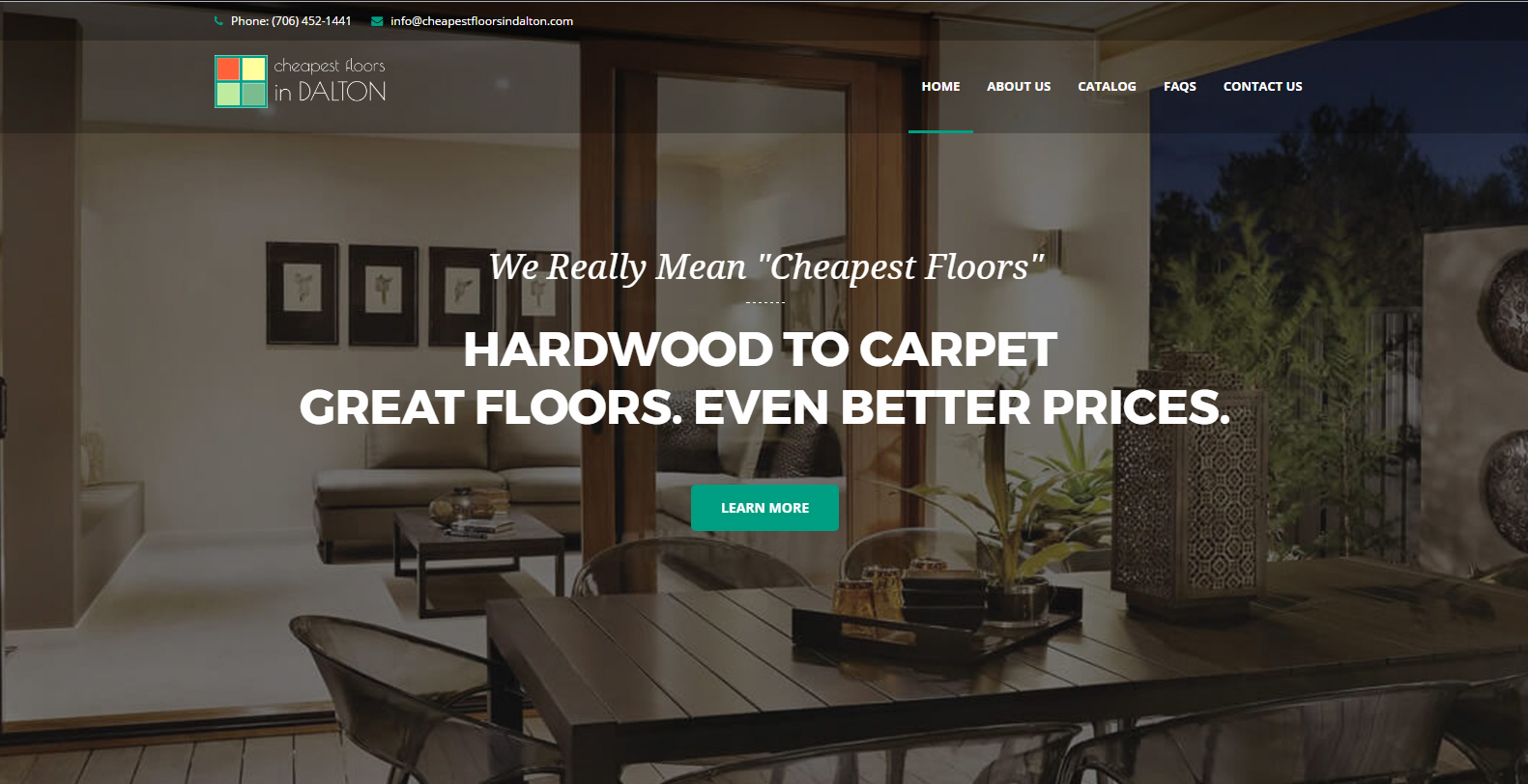 Cheapest Floors in Dalton Web Design and Marketing